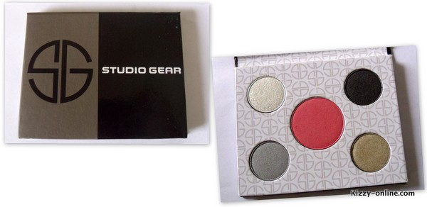 Studio Gear Cosmetics Holiday Smokey Eye Palette Review makeup make up eye shadows shadows blush beauty