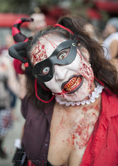 clothing, red, zombie, costume,