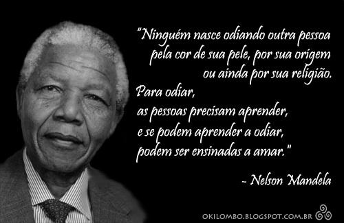 Mandela by Biblioteca Abdias Nascimento