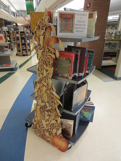 Native American Heritage Month book display