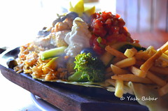 Sea Food Sizzler Long shot