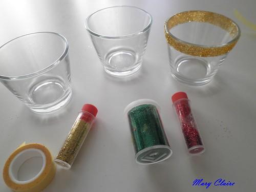 Maryclaire perle cose 3 settimana d 39 avvento 7 idee - Vasetti vetro ikea ...