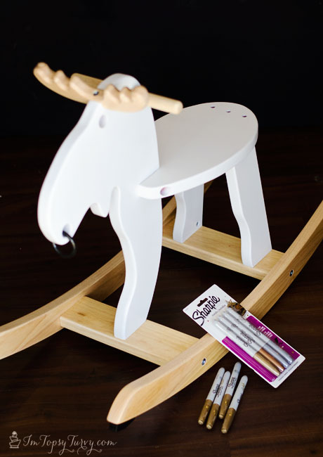 Christmas-rocking-moose-metallic-sharpies-#StaplesSharpie