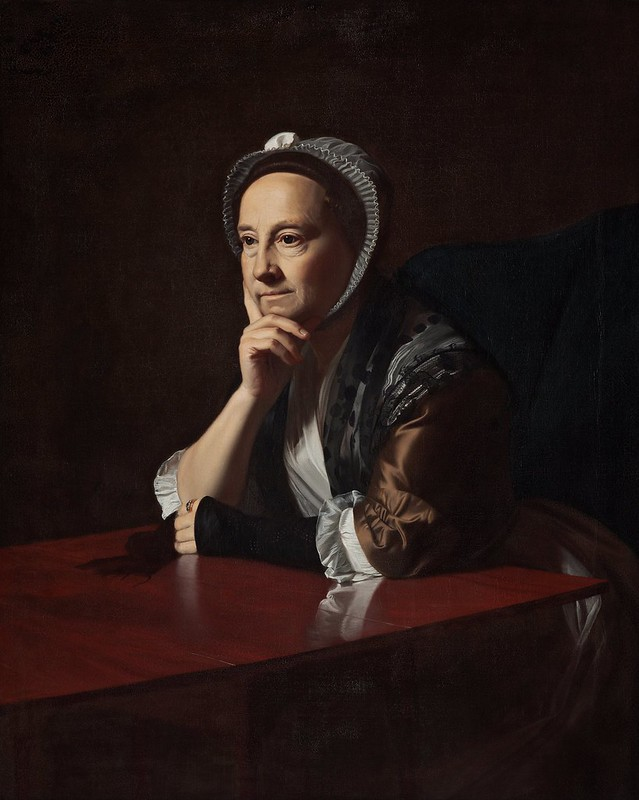 John Singleton Copley - Mrs Humphrey Devereux (c.1771)