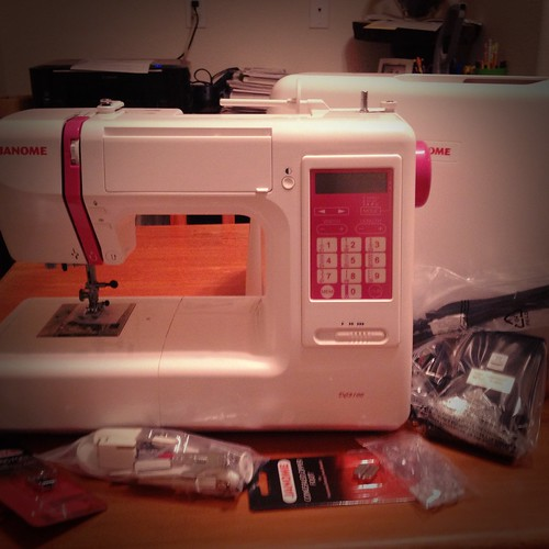 January- New Sewing Machine