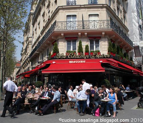 Brasserie Champ de Mars