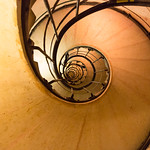 Stairwell in the Arc de Triomphe