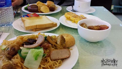 Hotel breakfast - Hanoi
