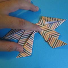 วิธีการพับกระดาษเป็นโบว์หูกระต่าย 023