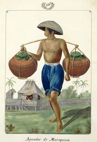 003-Aguador de Mariquina-Vistas de las Yslas Filipins y Trages…1847-J.H. Lozano- Biblioteca Digital Hispánica
