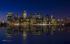Manhattan Sunset Skyline   www.weisserphotography.com