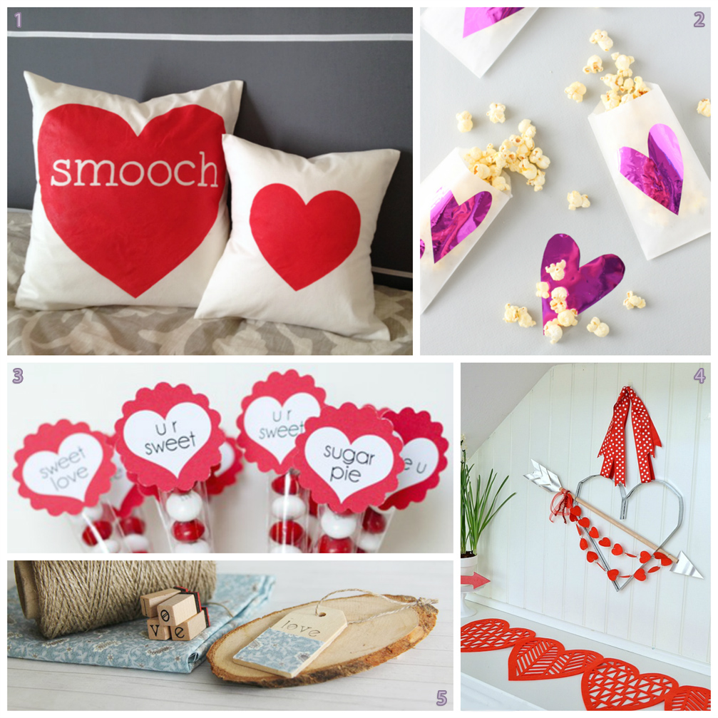 5 Inspirational Crafts: Sweet Valentine