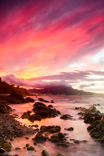 longexposure sunset red sky españa costa beach water clouds canon atardecer coast rojo agua rocks waves cloudy playa paisaje cielo nubes nublado olas rocas ceuta largaexposicion espain 60d dslrlandscape carlosalarios