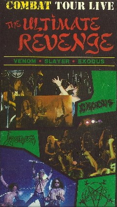 "04/03/85 Venom/ Slayer/ Exodus ""The Ultimate Revenge"" (VHS) Live at Studio 54, NYC, NY"
