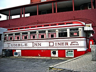 Daddypop's Tumble Inn Diner - 1941 Worcester Lunch Car #778