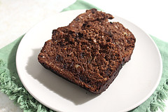 Cocoa-Coconut Banana Bread