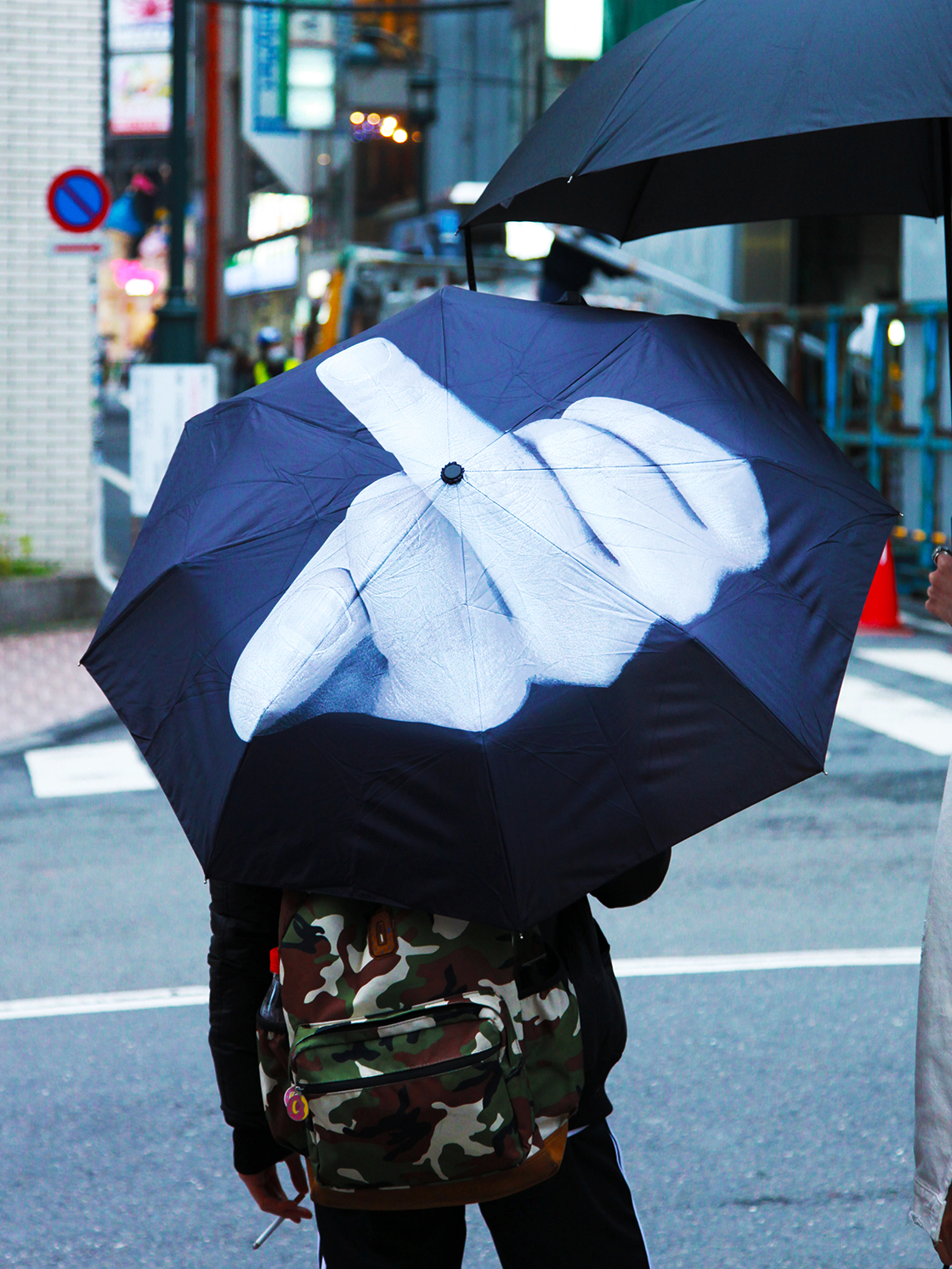 middle finger umbrella 2