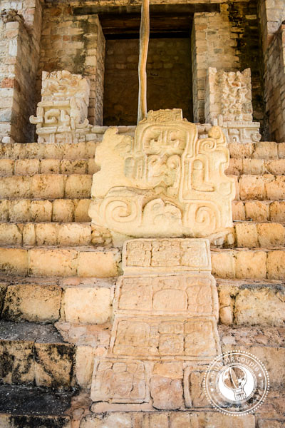 exploring the Ek Balam Mayan Ruins in the Yucatan Peninsula