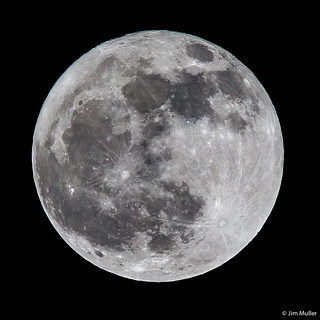 Full moon 16th March 2014