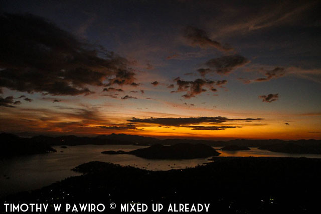 Asia - Philippines - Coron - Mount Tapyas - Sunset (1)