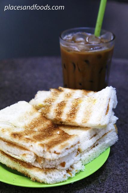 Sin Yoon Loong toast kaya bread