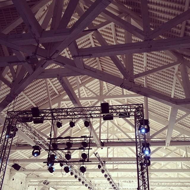 Luzes. Acção! #portugalfashion