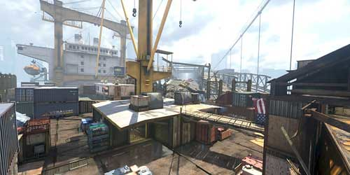 Call of Duty Ghosts - Collision Multiplayer Map