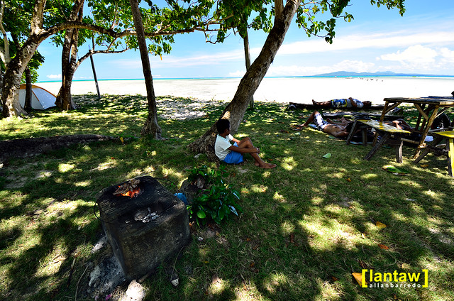 Cagbalete Island - Villa Cleofas camp site