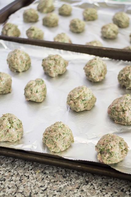 Baked Kale Meatballs