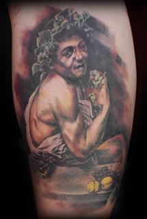Young Sick Bacchus Flickr: The portrait t...