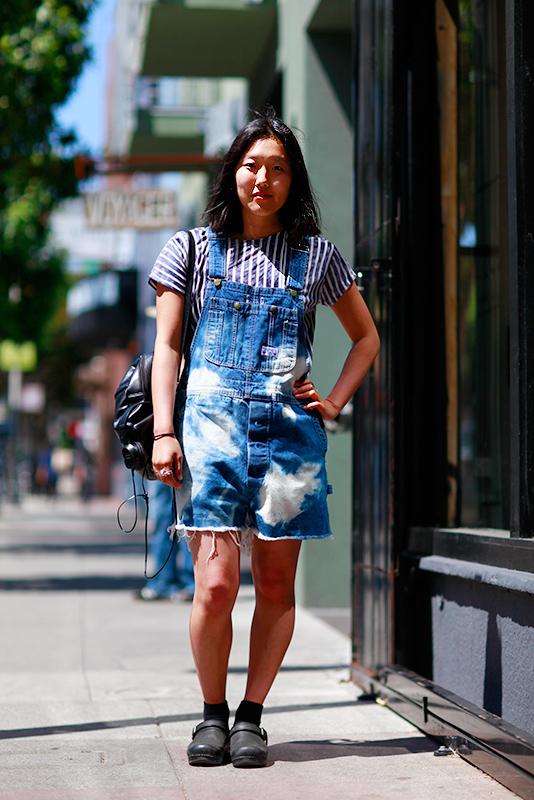 chloe_4b street style, Valencia Street, San Francisco, women, Quick Shots, street fashion