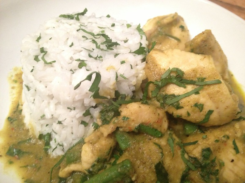 Thai Green Curry : Another Close Up