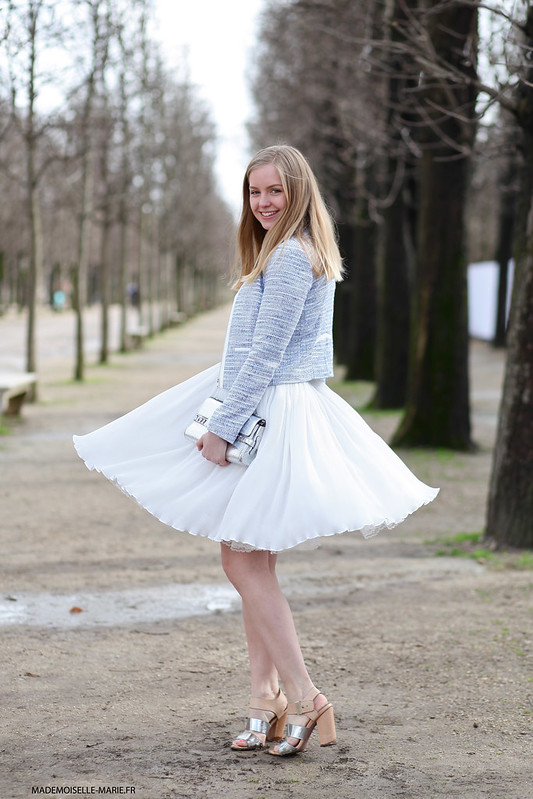 Axelle at Paris fashion week copie