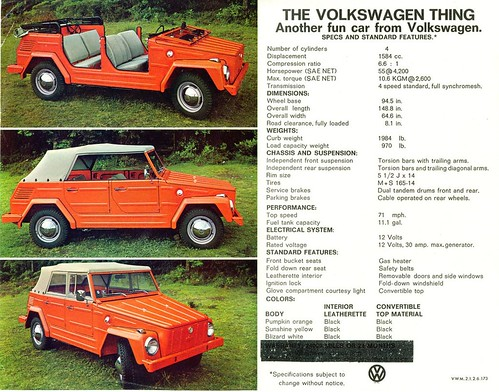 "VW ""Thing"" ad"