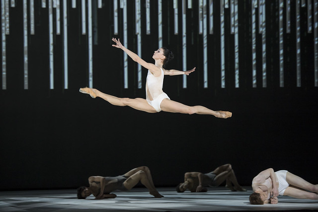 Natalia Osipova in Connectome © ROH/Bill Cooper, 2014