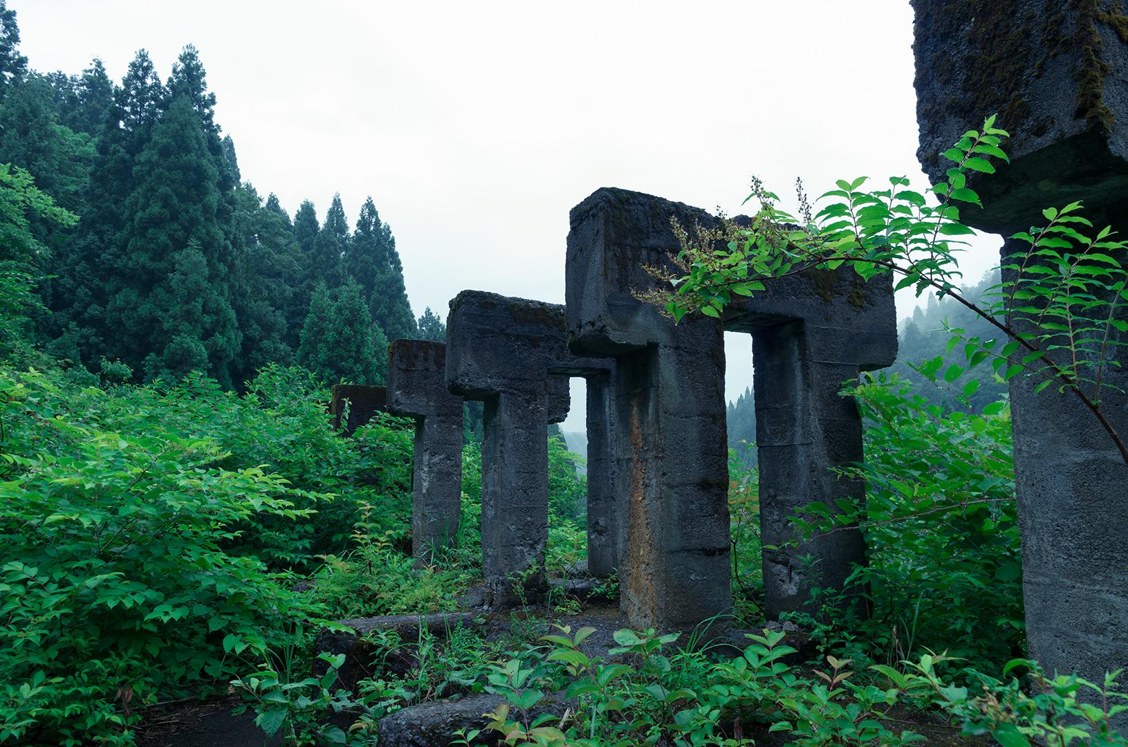 雨の廃鉱山5