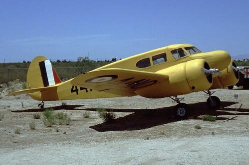 Cessna UC-78 Bobcat at the Pima Air & Space Museum, 1980