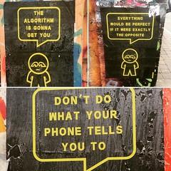 Words of wisdom #streetartlondon #streetphotography #streetportrait #streetphotographer  #londonpop #london4all #london_only #londongraff #londongraffiti #grafflife #graffart #graffporn #bricklane #eastlondon #eastlondonart #streetshooter #instaphotomissi