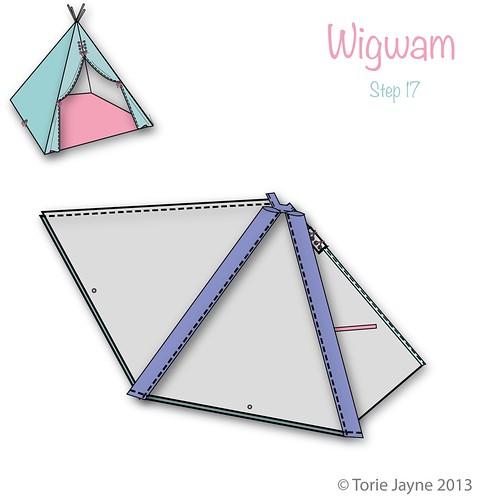 Wigwam Step 17