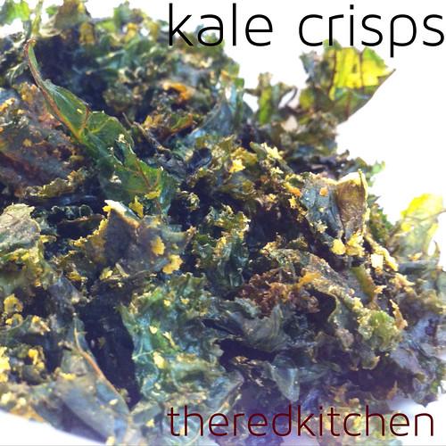 theredkitchen: kale crisps
