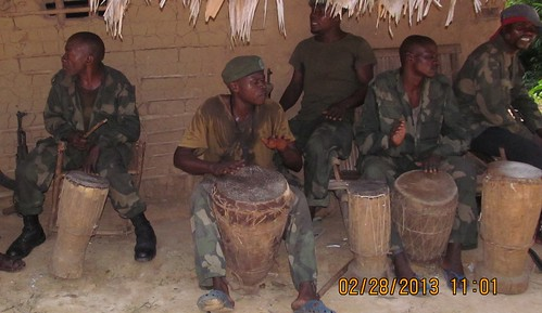 drumming at the funeral