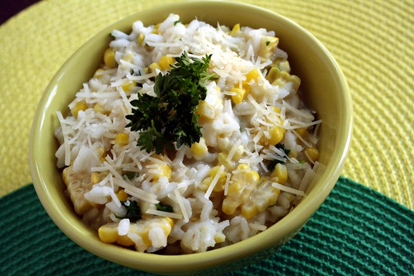 9012505374 5ce328da7e z Buttery Summer Corn Risotto