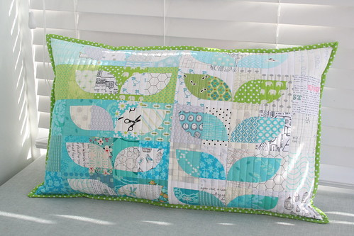 Scrappy Spring Sprouts Pillow for PTS10