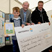 aady Community Fund Launch. Harvey Everton, overall winner of the turbine naming comp