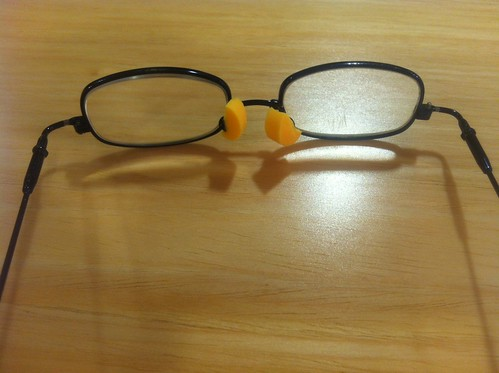 I am either a terrible glasses repair-person or a genius.