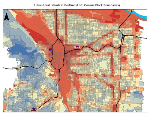 Urban Heat Island Effect in Portland