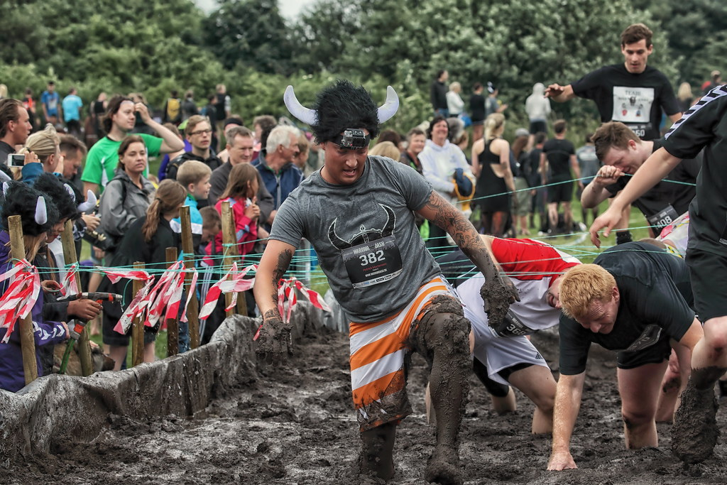 Warrior Dash  - The first time in Denmark on 22 June 2013 Valbyparken, Copenhagen.