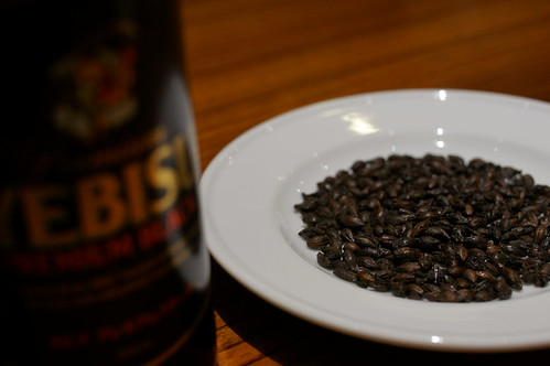 deep roasted malt for black beer