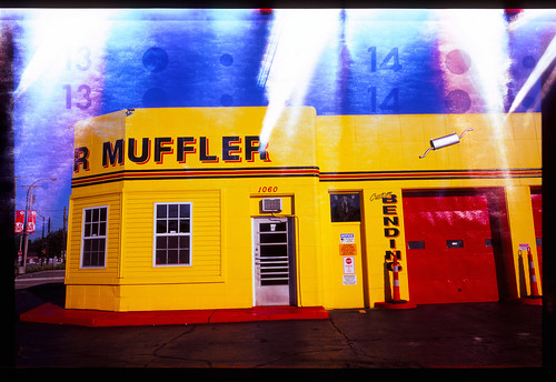 Muffler in Yellow