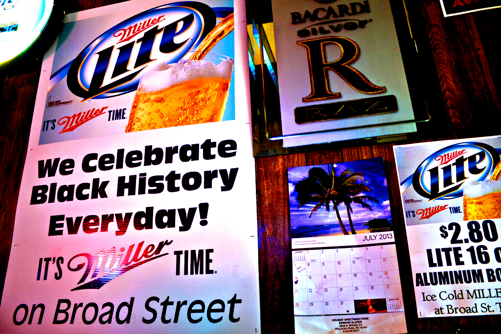 Miller Lite Poster, North Philly, PA